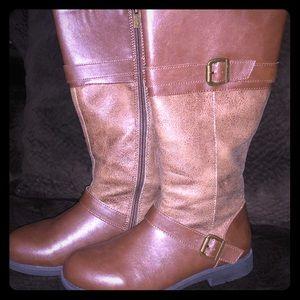 Nine West Casey Brown Knee Winter Boots